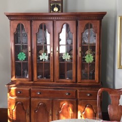 lucky china cabinet